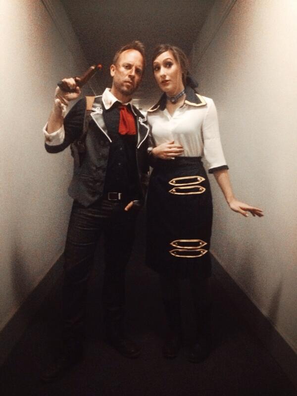 Booker and Elizabeth