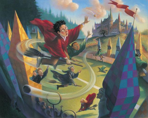 Harry Potter Book Art Hogwarts Get Your Harry ...