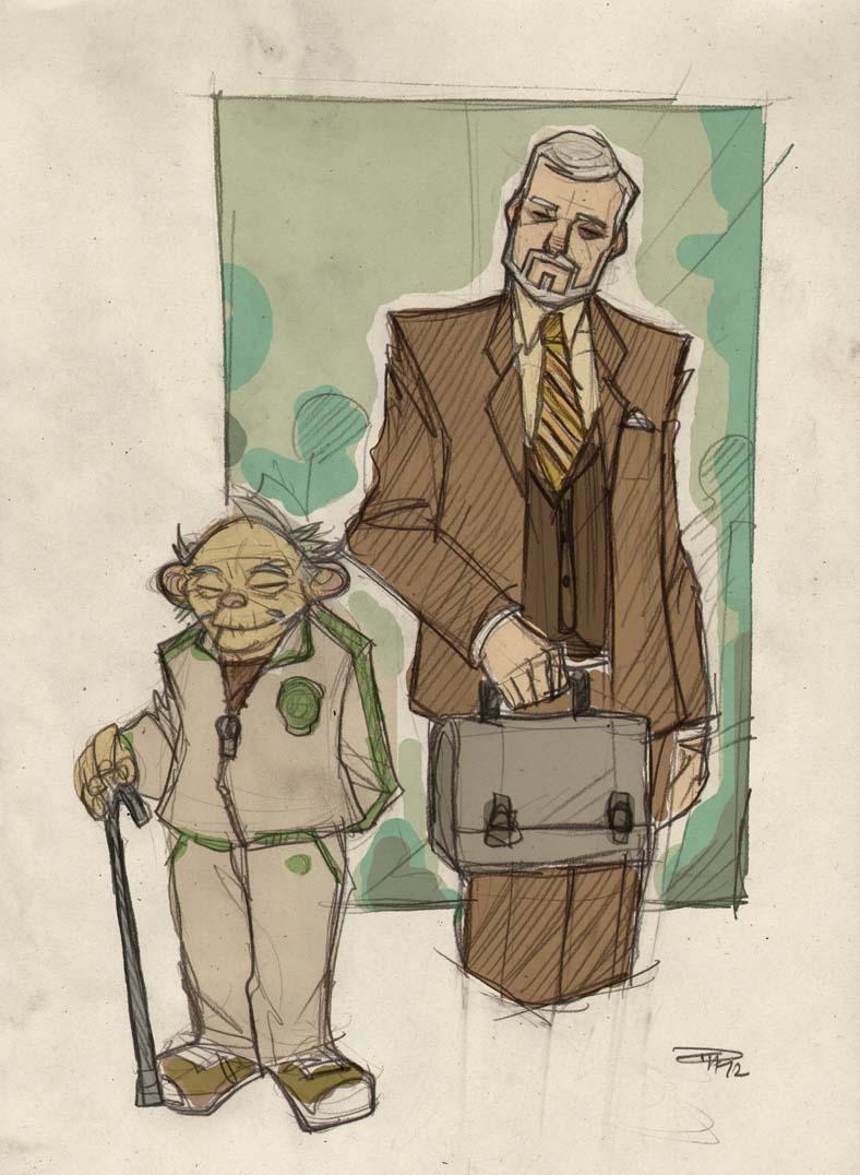 Yoda and Obi-Wan Kenobi
