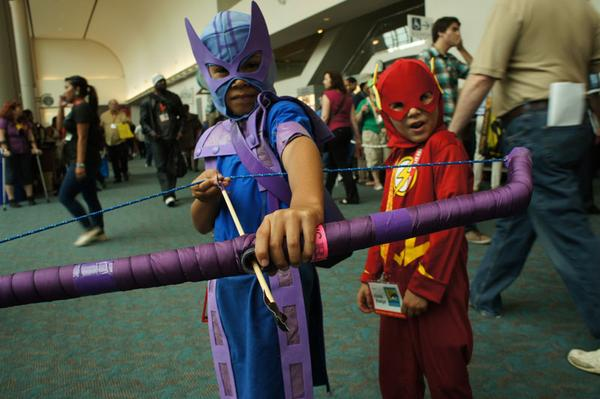 Hawkeye & The Flash