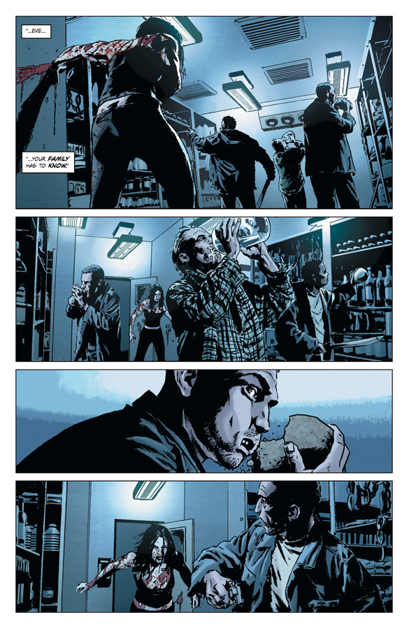 Pages from Lazarus #1