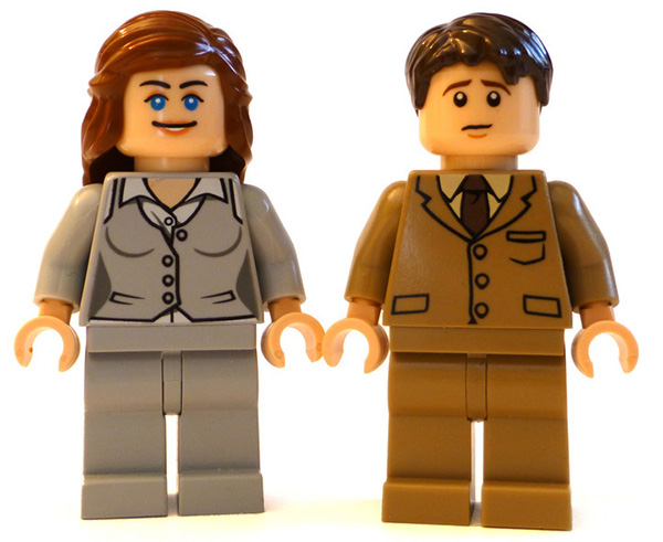 Sybil Crawley and Tom Branson