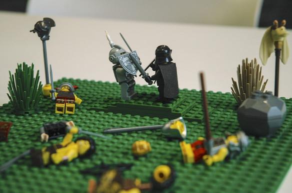 Arthur vs  Mordred, Le Morte d'Arthur