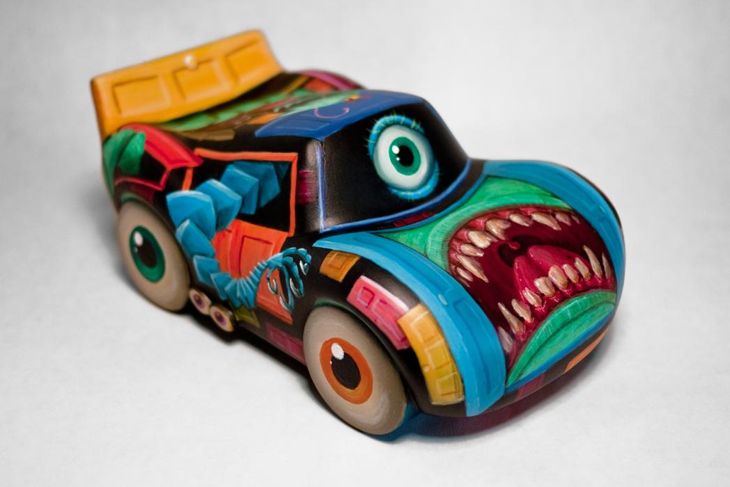 <em>Cars</em>/<em>Monsters, Inc.</em> Mashup