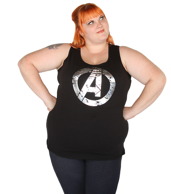 Avengers Distressed Tank