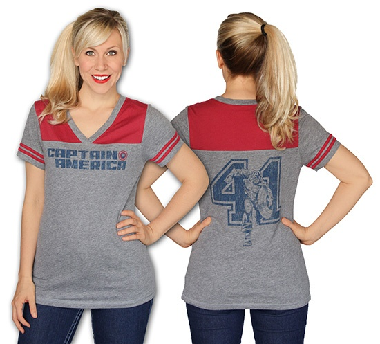 Captain America 41 Jersey