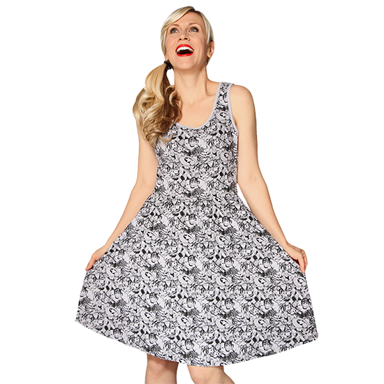 Marvel Character Print Dress