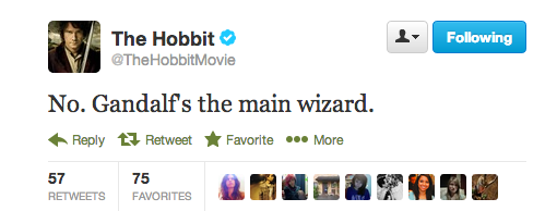 Would you ever play a wizard again in any fantasy film?