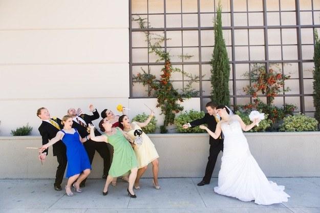 Avada Kedavra'd wedding parties!