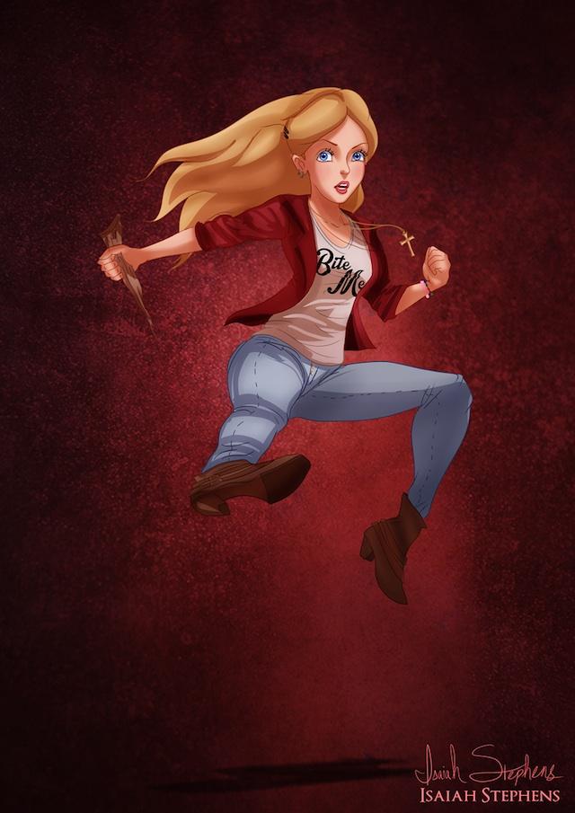 Alice as Buffy