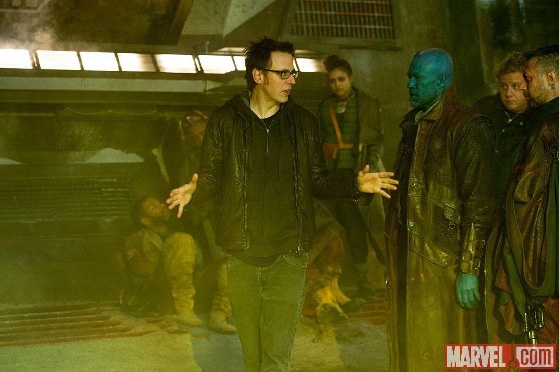On the Set With James Gunn