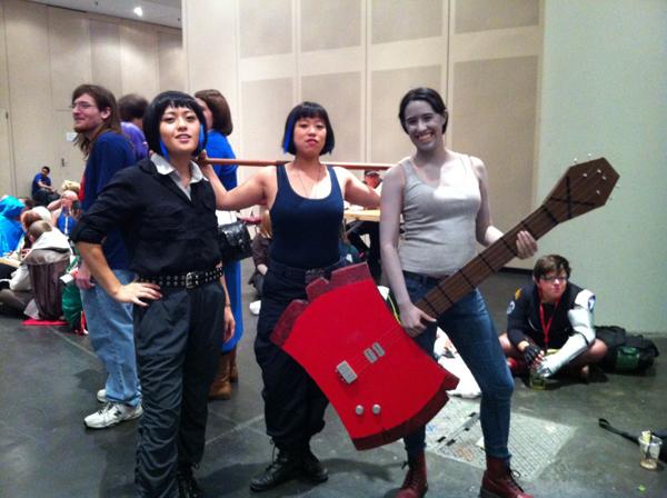 Mako Moris and Marceline the Vampire Queen