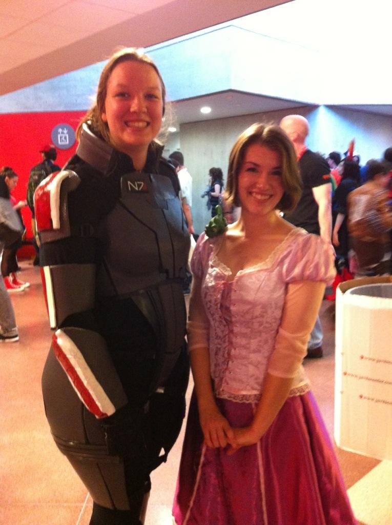 Shepard and Rapunzel