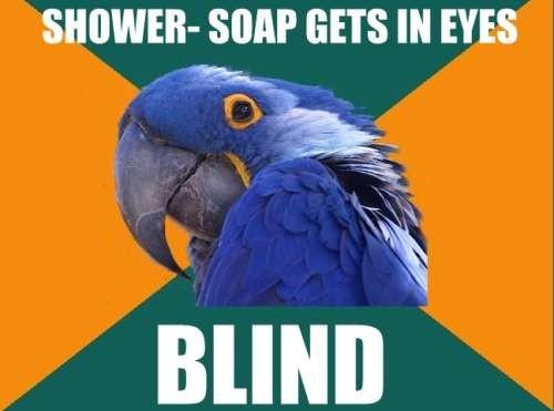 Soapy Eyes
