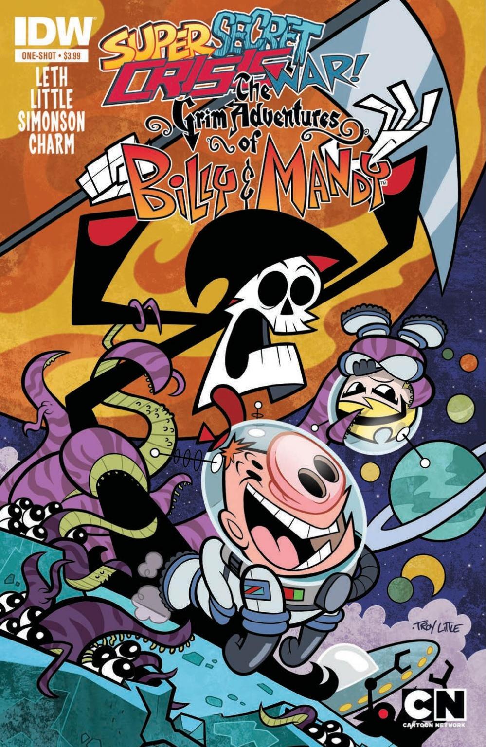<eM>Super Secret Crisis War: The Grim Adventures of Billy and Mandy</em> #1