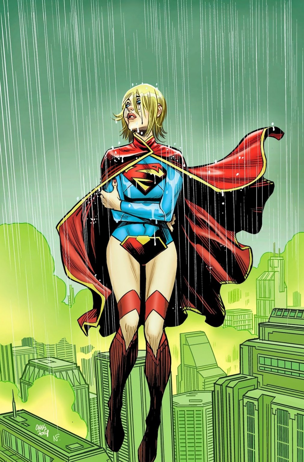 <em>Supergirl</eM> #34