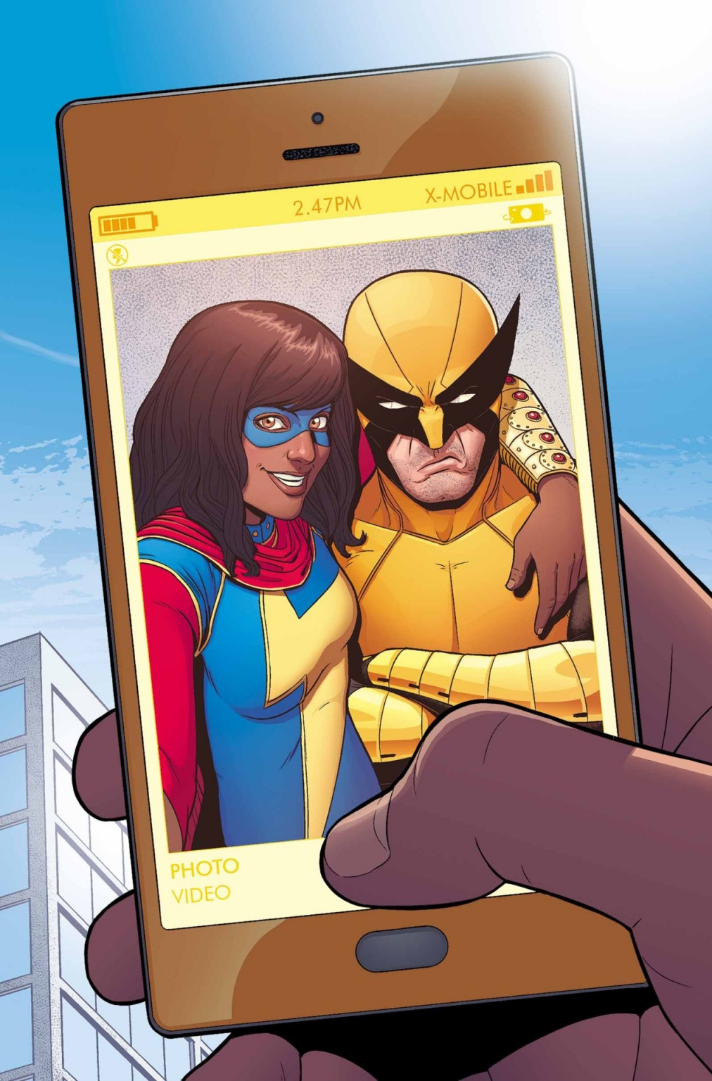 <em>Ms. Marvel</eM> #7
