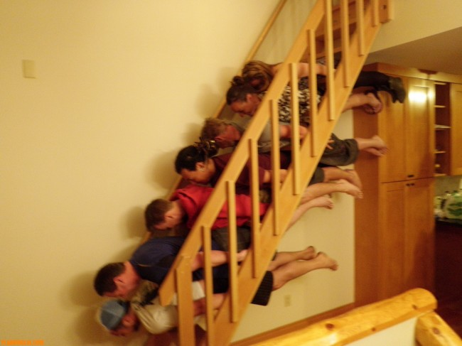 A chacun son planking !!!!  Family-planking