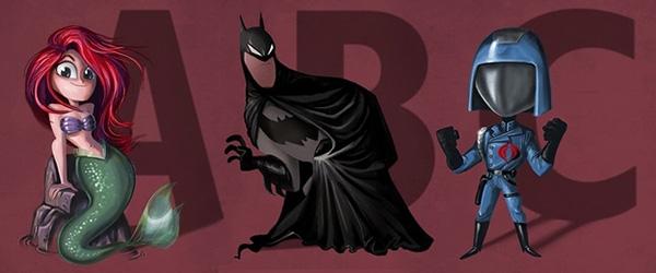 Ariel, Batman, Cobra Commander