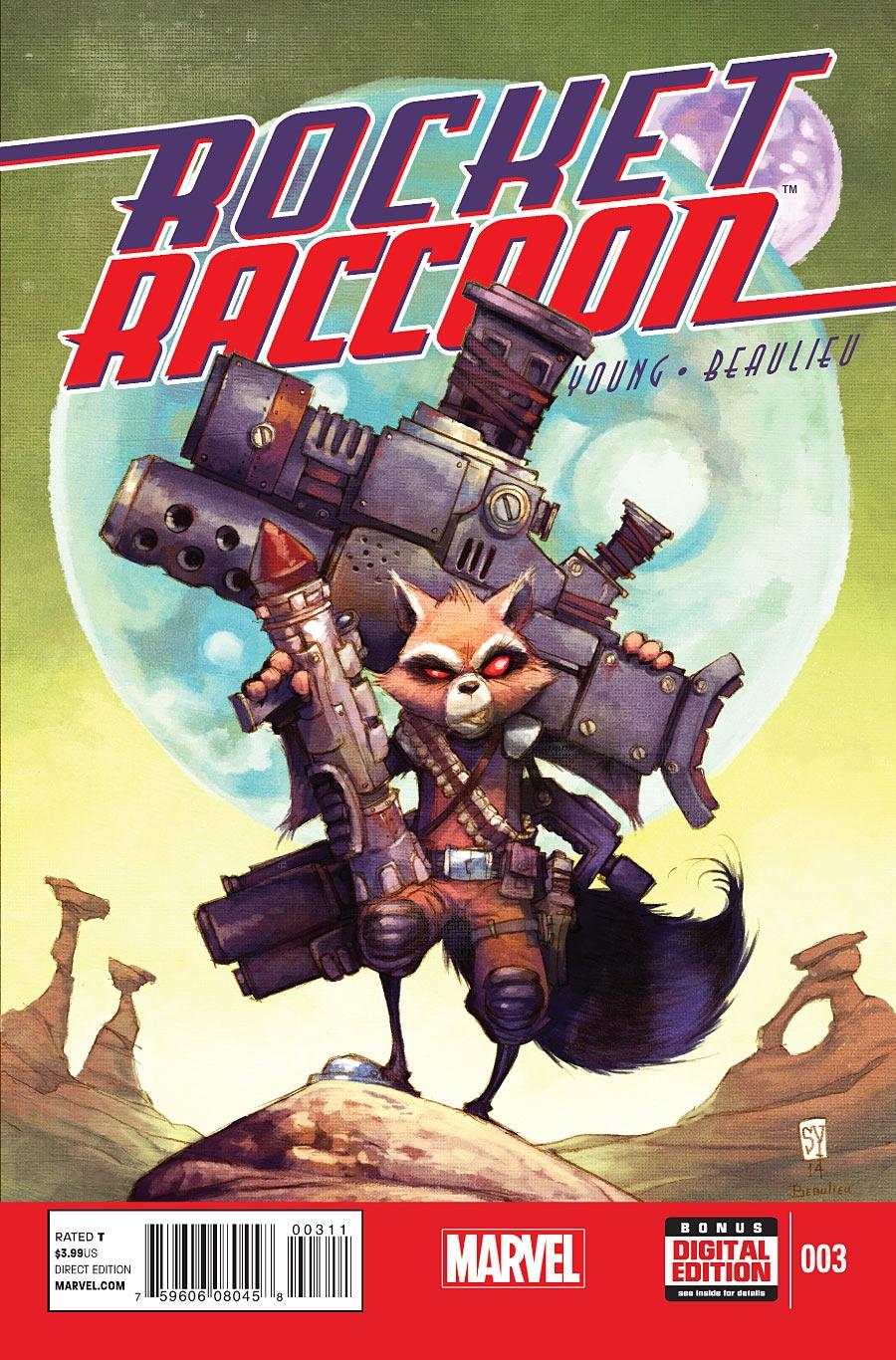 <eM>Rocket Raccoon</eM> #3