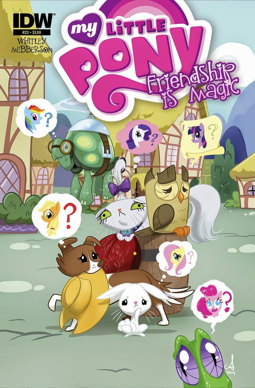 <eM>My Little Pony Friendship is Magic</eM> #23