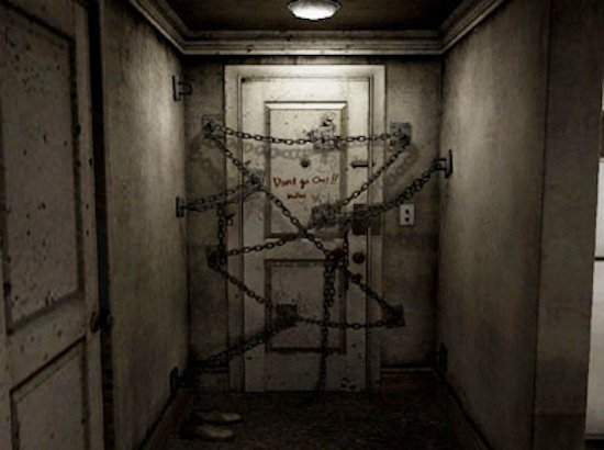 Silent Hill 4's Apartment Door