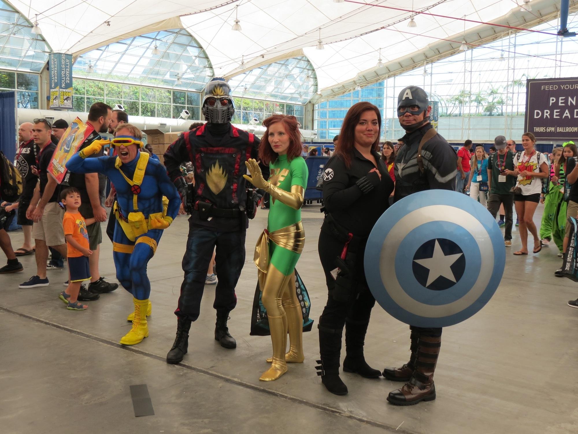 Marvel folks!