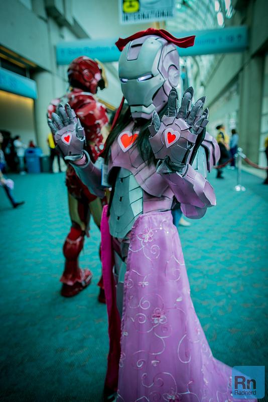 Pink Iron Man