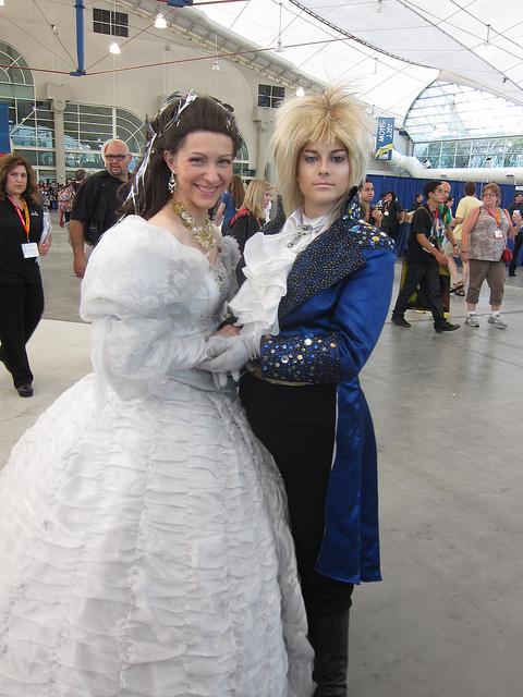 Sarah and Jareth from Labyrinth