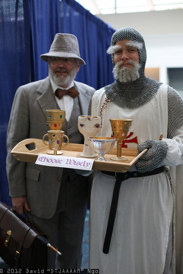 Dr. Henry Jones & Grail Knight