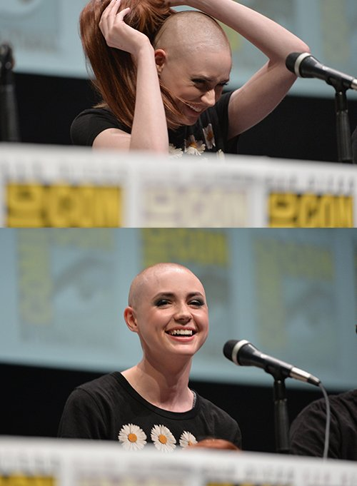 Karen Gillan Shaved Her Head to Play <em>Guardians of the Galaxy</eM>'s Space Pirate