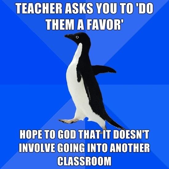 Teacher Favor