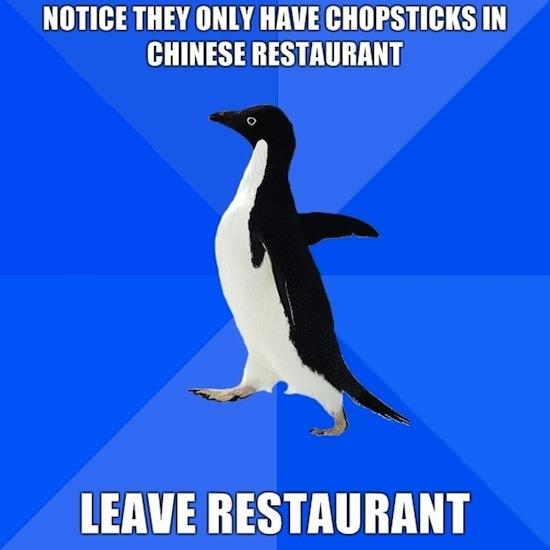 Chopstick Fear