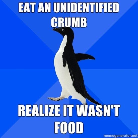 It Wasn't Food