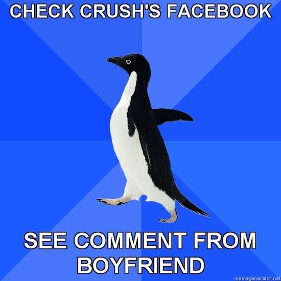 Boyfriend Crushes Crush