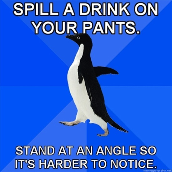Pants Spill