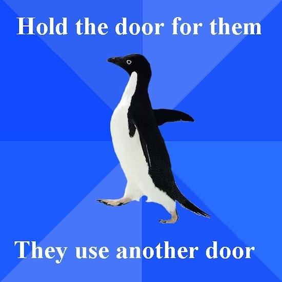 Your Door Is Horrible