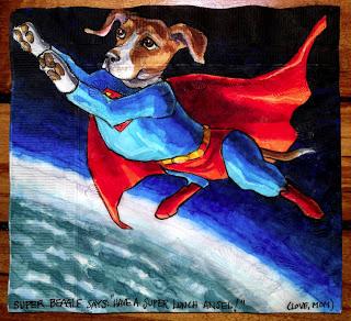 Superman Beagle