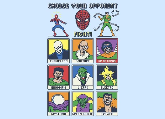 Spider Fight 8-Bit