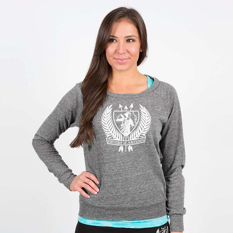 Sisters of Artemis Slouchy Pullover