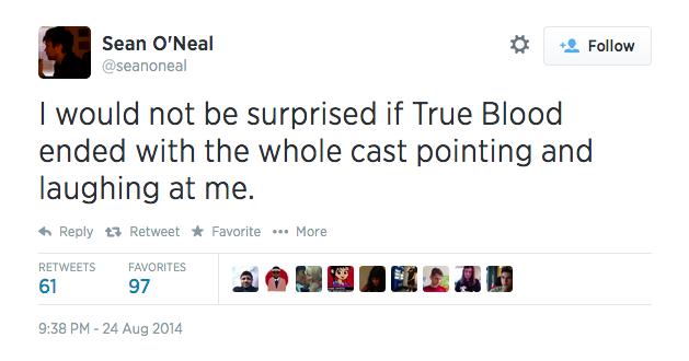 True Blood Finale Twitter Reactions