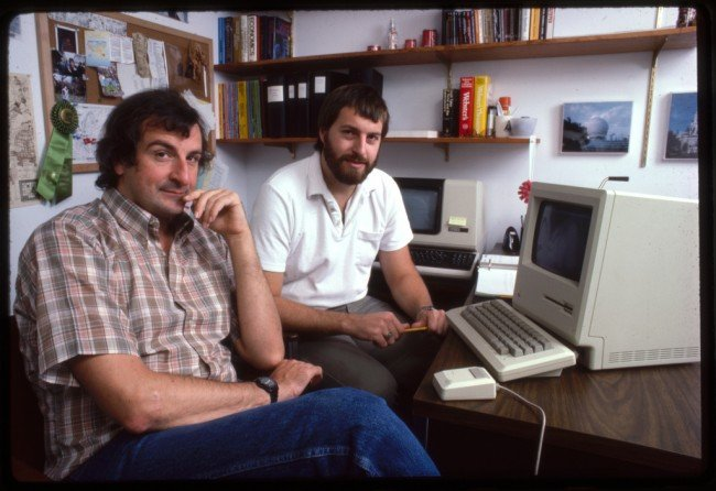 Douglas Adams and Steve Meretzky