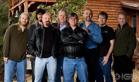 Richard Garriott and the Portalarium team