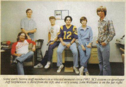 Sierra Entertainment circa 1981